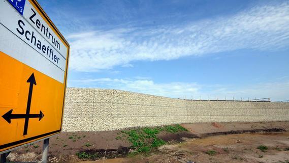 Gabionen-Mauerbau: