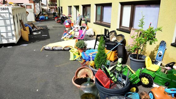 Das Hochwasser hat in Wilhermsdorf tiefe Spuren hinterlassen
