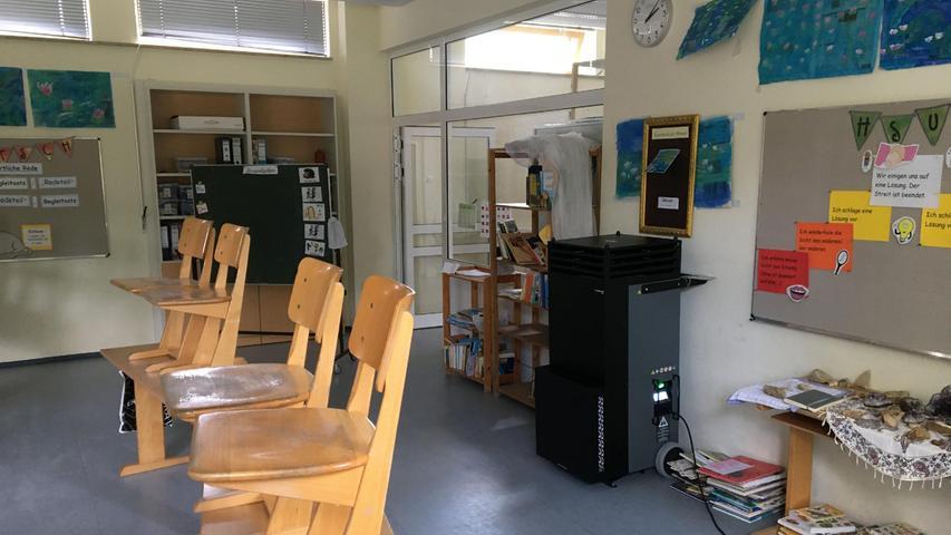 Weißenburg kauft Luftfilter für die Grundschule und die Kitas