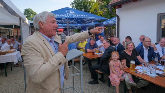 Neumarkter MdB Alois Karl feierte mit Parteifreunden seinen Ausstand