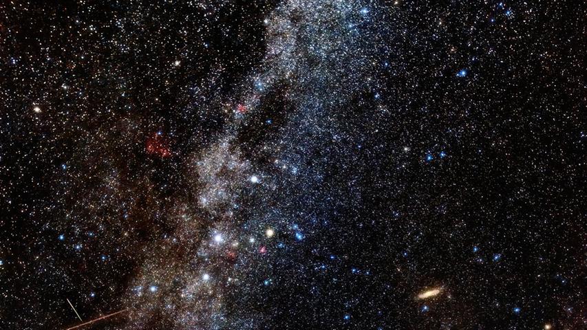 Perseiden: Zahlreiche Sternschnuppen in Franken gesichtet