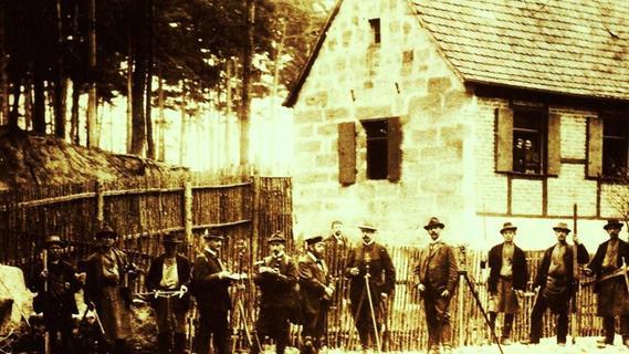 Wirtshaus mitten im Kalchreuther Forst