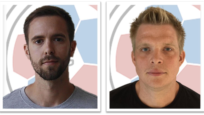 Das neue Trainerteam: Nicholas Neupert (links) und Karsten Herold.