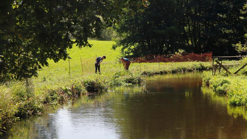 Forchheim , am  09.08.2021 Ressort: Lokales Foto: Eduard Weigert  für BG  Sommer in der Fränkischen Schweiz