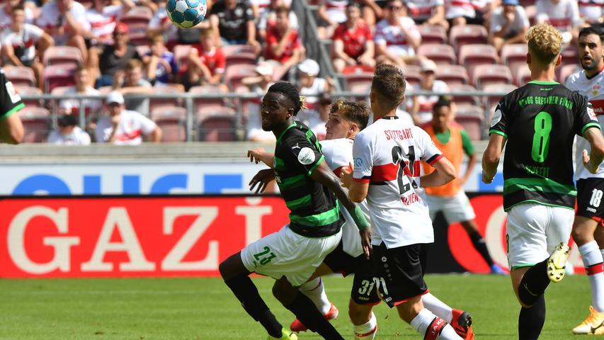 1:5 beim VfB - bewerten Sie jetzt die Kleeblatt-Profis!