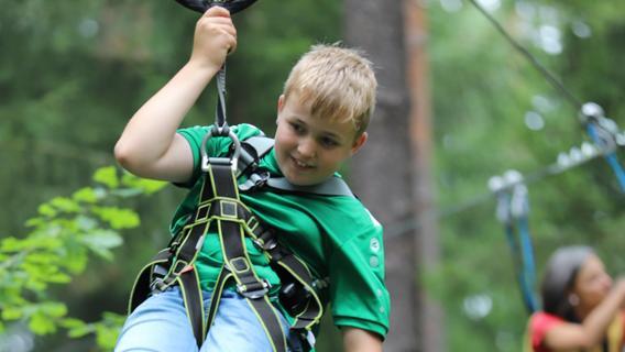 Auszeit für Geschwister von schwerkranken Kindern im Kletterwald Straßmühle