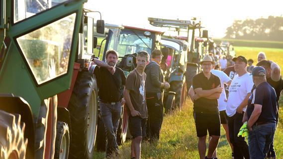 Protest gegen das ICE-Werk bei Roßtal: Drei kleine Dörfer trotzen dem Großkonzern