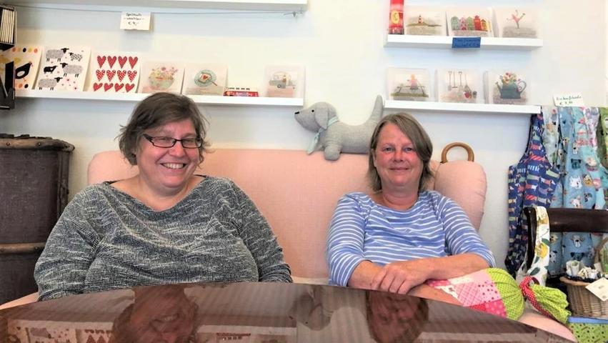 Petra von Schwanenflug und Beate Ludwig eröffneten 2013 gemeinsam den Süßkramladen in Fürth