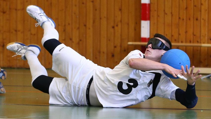 Goalball: Dieses fränkische Duo tritt bei den Paralympics an