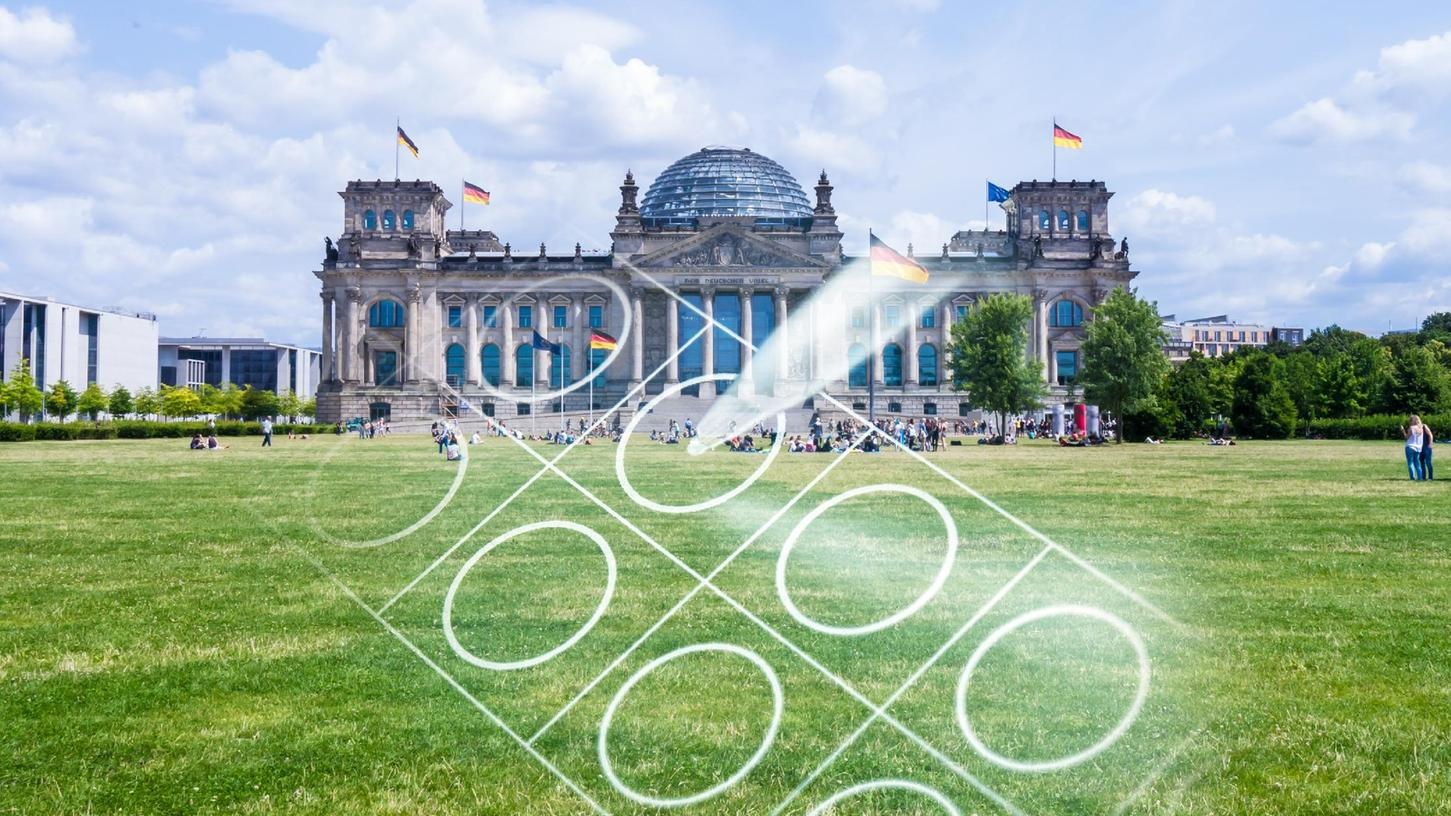 Wer bekommt die meisten Kreuze bei der Bundestagswahl am 26. September? Jede(r) Wähler(in) hat zwei Stimmen: die Erst- und die Zweitstimme.
