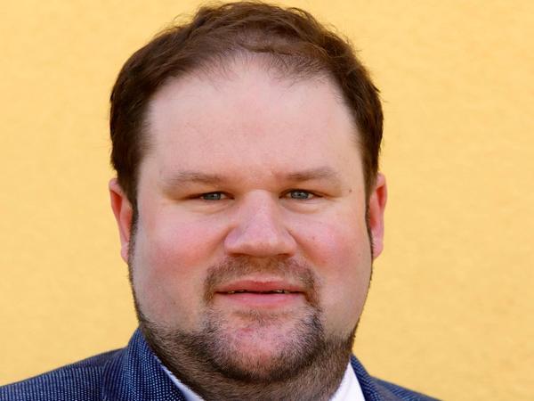 Thomas Grämmer, SPD, Schwabach, 40 Jahre, verheiratet, zwei Kinder, Diakon und Erzieher.