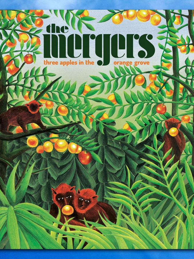 """Das Cover von """"Three Apples in the Orange Grove"""", der neuen Platte von The Mergers aus Nürnberg."""