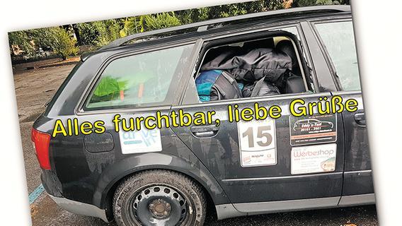 Scheibenkleister: In Mailand präsentierte sich das Auto ungewohnt offen