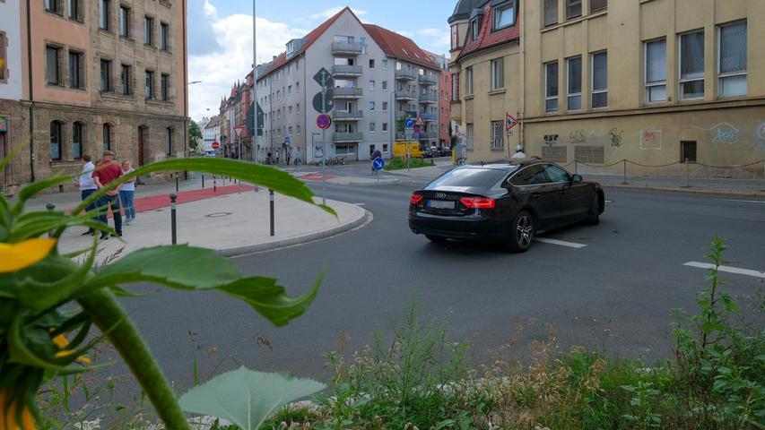 Nürnberg: Grüne fordern mehrere Nachbesserungen für Radler in St. Johannis