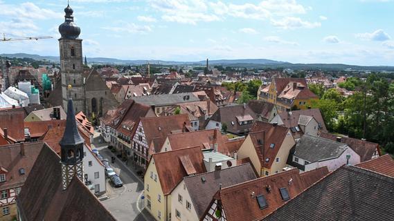 Von oben: Forchheim  in 360 Grad