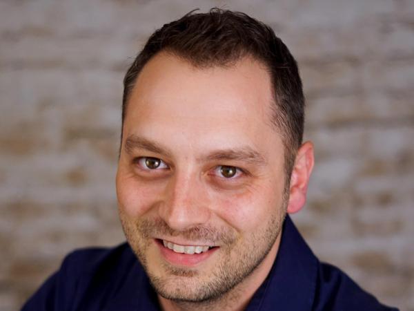 Stefan Kuschel (dieBasis), 38 Jahre, Rothaurach.