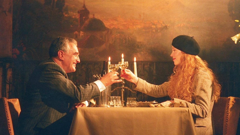 """Das Drama """"Leo und Claire"""" wurde zum Teil in Nürnberg gedreht. Hier eine Szene mit Michael Degen und Franziska Petri."""