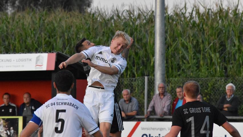 Derby-Sieg für den SC 04 Schwabach über den SC Großschwarzenlohe