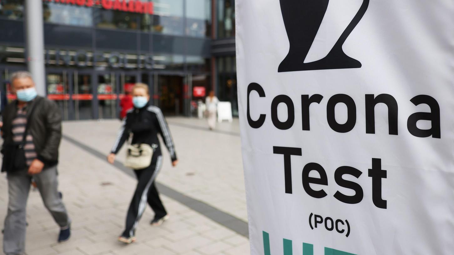 Nach der 3G-Regel müssen Ungeimpfte in vielen Bereichen des öffentlichen Lebens einen negativen Coronatest vorweisen.