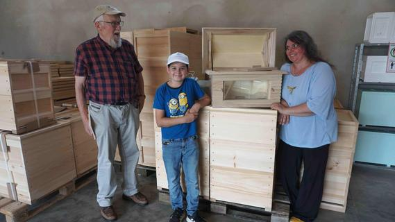 In Münchaurach gibt's alles rund um die Biene