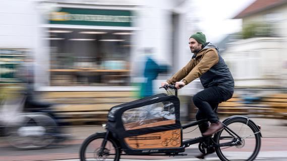 Debatte um Lastenräder: Im Alltag spielen sie noch eine kleine Rolle