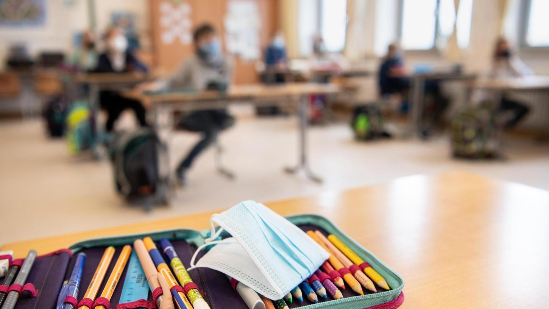 Im abgelaufenen Schuljahr 2020/2021 gab es in Bayern Präsenz-, Fern- und auchWechselunterricht (Symbolfoto).