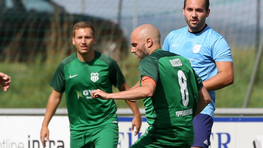 Tabellendritter: Fußball-Kreisligist Poppenreuth ist voll im Flow
