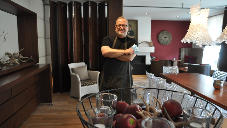 Will trotz der Widrigkeiten angesichts der Corona-Pandemie positiv nach vorne blicken: Christian Pöllmann vom Landhotel mit Restaurant