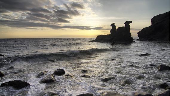 Bornholm: Wild, windumtost und sandig weiß