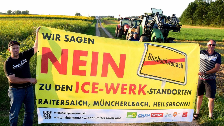 Nicht schon wieder Raitersaich: Der Protest macht nicht an den Landkreisgrenzen Halt – die Bürger ziehen gemeinsam an einem Strang.