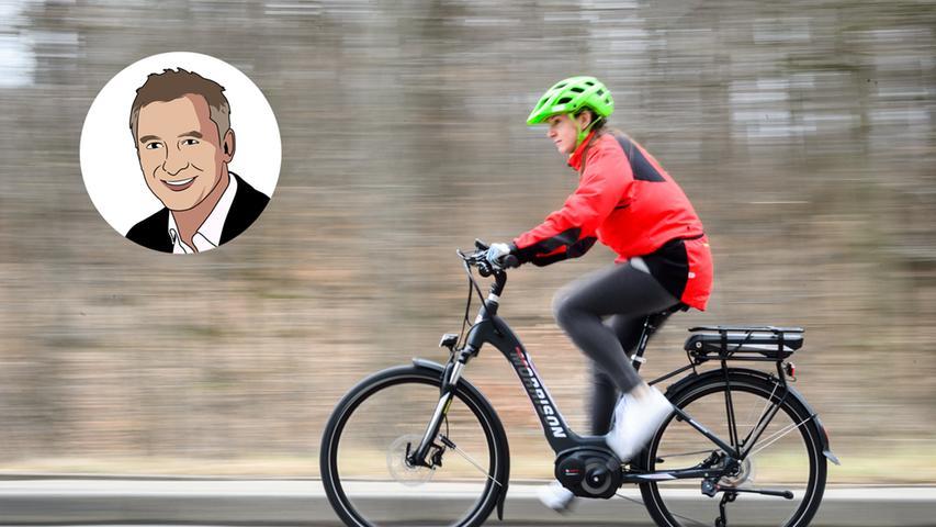 Lächeln statt hecheln: Sind E-Biker noch richtige Fahrradfahrer?