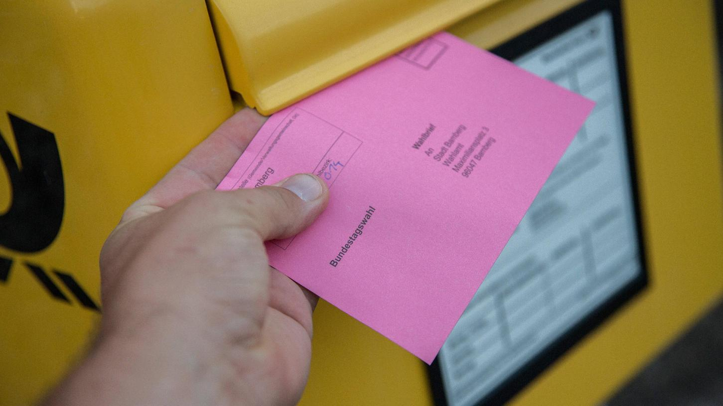 Am 26. September wird in Deutschland ein neuerBundestag gewählt. Noch nie zuvor haben bereits vier Wochen vor dem Wahltermin so viele Schwabacher per Brief gewählt.