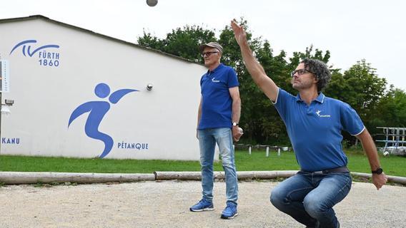 Petanque-Duo des TV Fürth 1860 gelingt die kleine Sensation