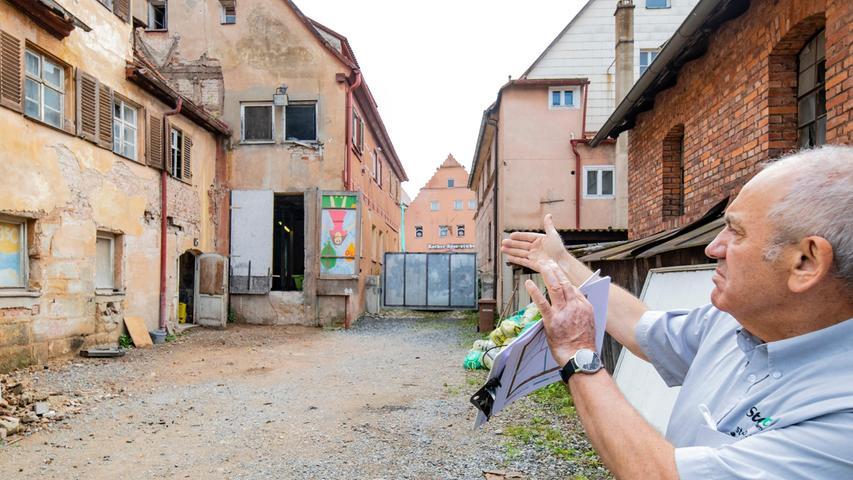 Eine kleine Sensation hinterm Putz des Rother Stadtbräustübls