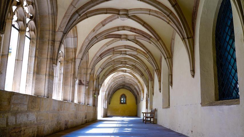 Besinnlicher Ort im Klosterhof Langenzenn.
