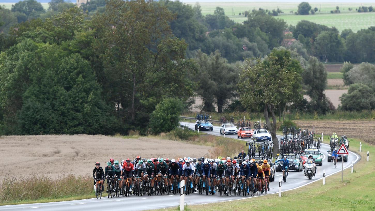 Die Profis rollen auf Erlangen zu: Die Deutschland Tour ist am Donnerstag gestartet, am Freitag waren die Rennfahrer auf der Strecke vonSangerhausen nach Ilmenau. Samstag kommen sie nach Franken.