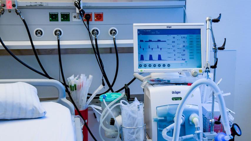 Nürnberger Klinikum: Sechs von sieben Corona-Intensivpatienten ungeimpft