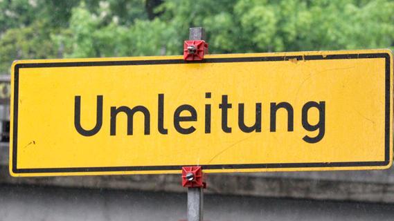 Straßen nach Kalbensteinberg und zwischen Dittenheim und Aha betroffen