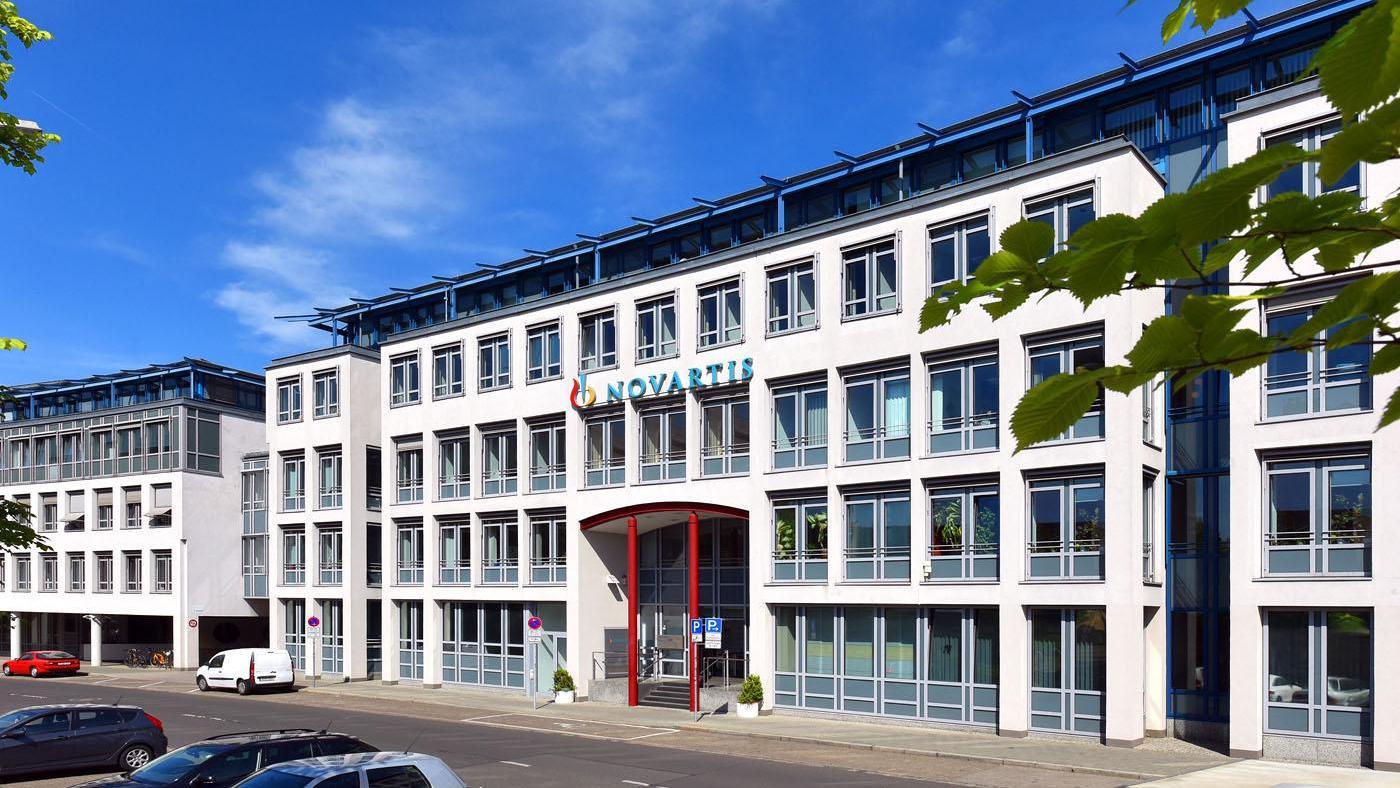 Blick auf den Firmensitz der Deutschlandzentrale in der Nürnberger Roonstraße. Der Mietvertrag läuft 2023 aus.