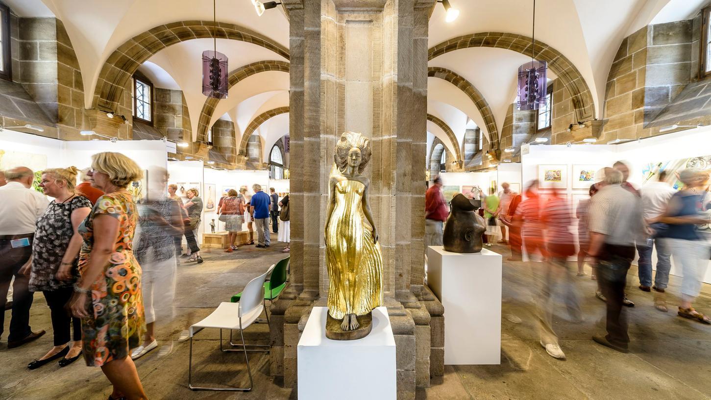 Die RathausArt in Nürnberg war schon in Vor-Pandemie-Zeiten ein Publikumsrenner.