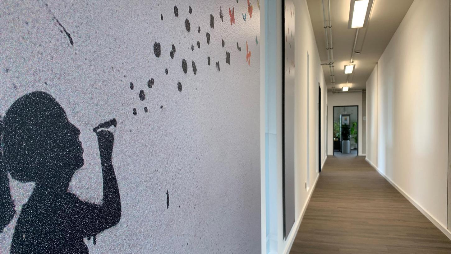 Hell und freundlich sind die neuen Räume. DasQuartier bietet mehr Platz - und damit auch neue Chancen.