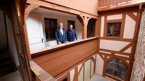 Aufwändige Sanierung: Altstadtfreunde stellen neuestes Schmuckstück vor