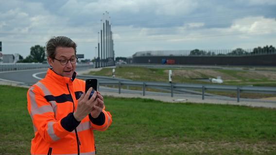 Fünfjährige Mega-Baustelle beendet: Freie Fahrt am Kreuz Fürth/Erlangen