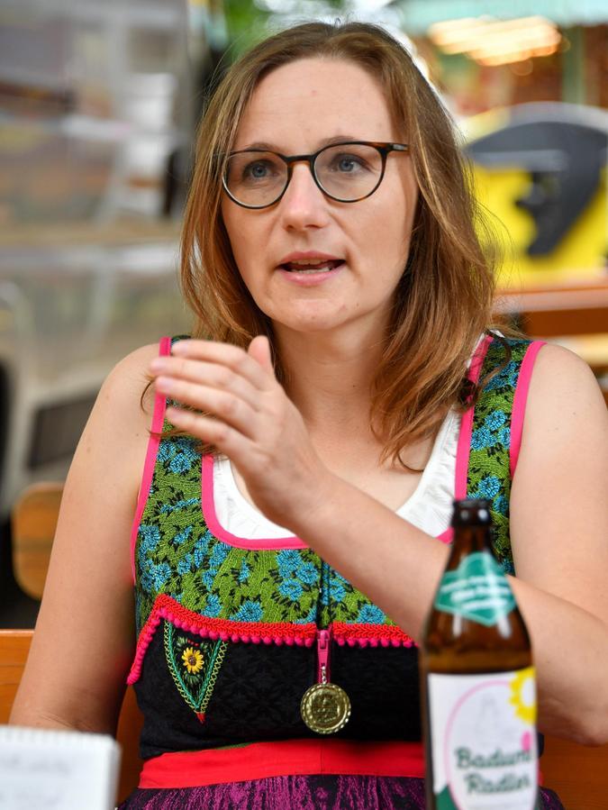 Lisa Badum (Grüne) will ein weiteres Mal nach Berlin.
