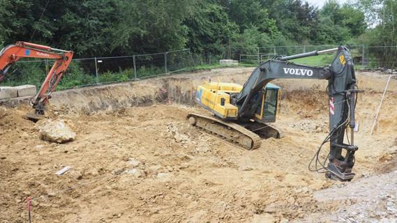 Baustart für neues Abwasserpumpwerk in Weidensees