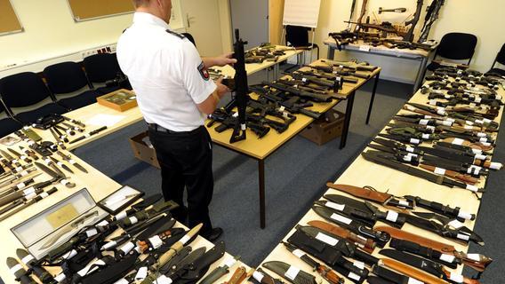 Gesetzesverschärfung: Welche Waffen bei der bayerischen Polizei abgegeben wurden