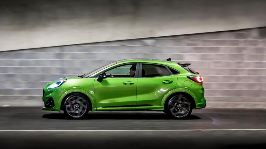 Analog zum Fiesta ST nutzt der Puma ST einen 1,5-l-Dreizylinder-Turbobenziner mit 147 kW/200 PS.