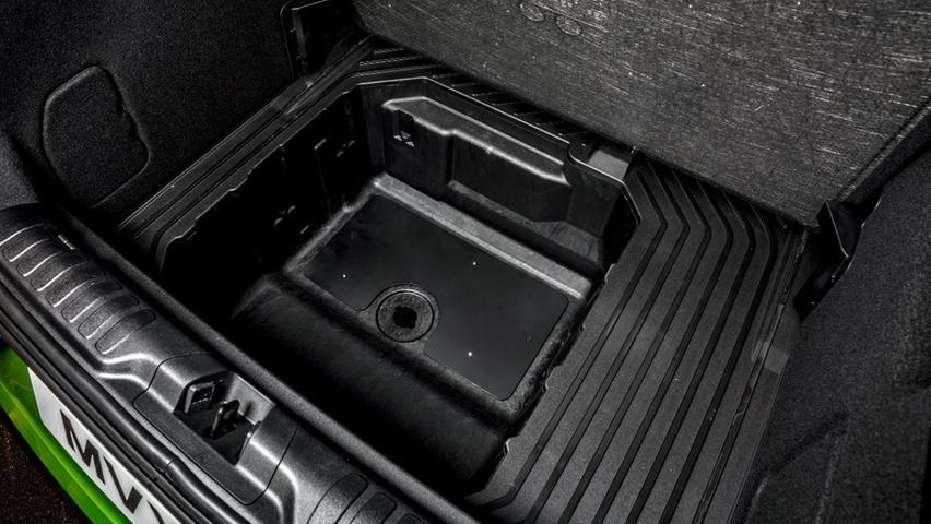 Wie der Standard-Puma bekommt auch der ST die auswaschbare und mit einem Ablaufventil ausgestattete Mega-Box.