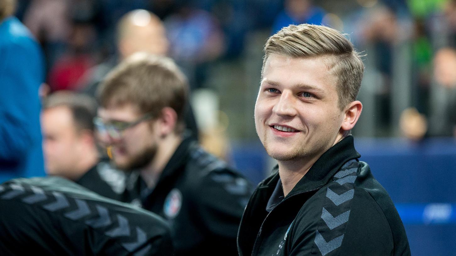 Nach zwei Jahren in Konstanz ist Torhüter Michael Haßferter – auch aus beruflichen Gründen – zum HC Erlangen zurückgekehrt.