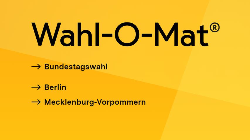 Jetzt online: Hier geht's zum Wahl-O-Mat für die Bundestagswahl 2021